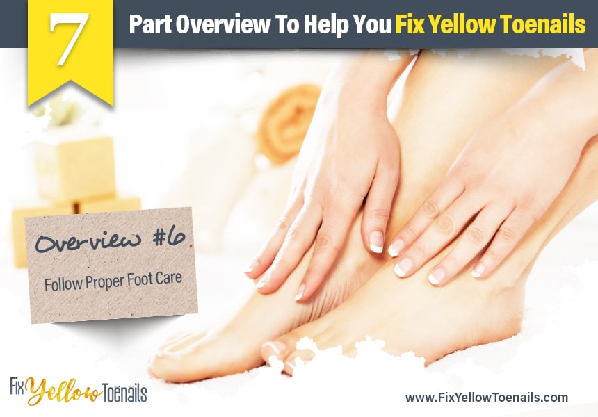 how to cure yellow nails