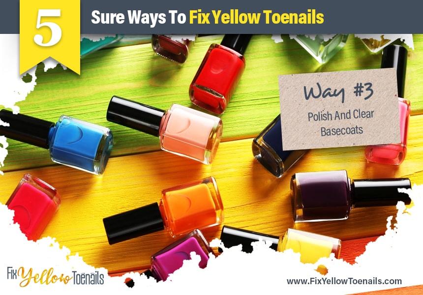 tea tree oil yellow toenails